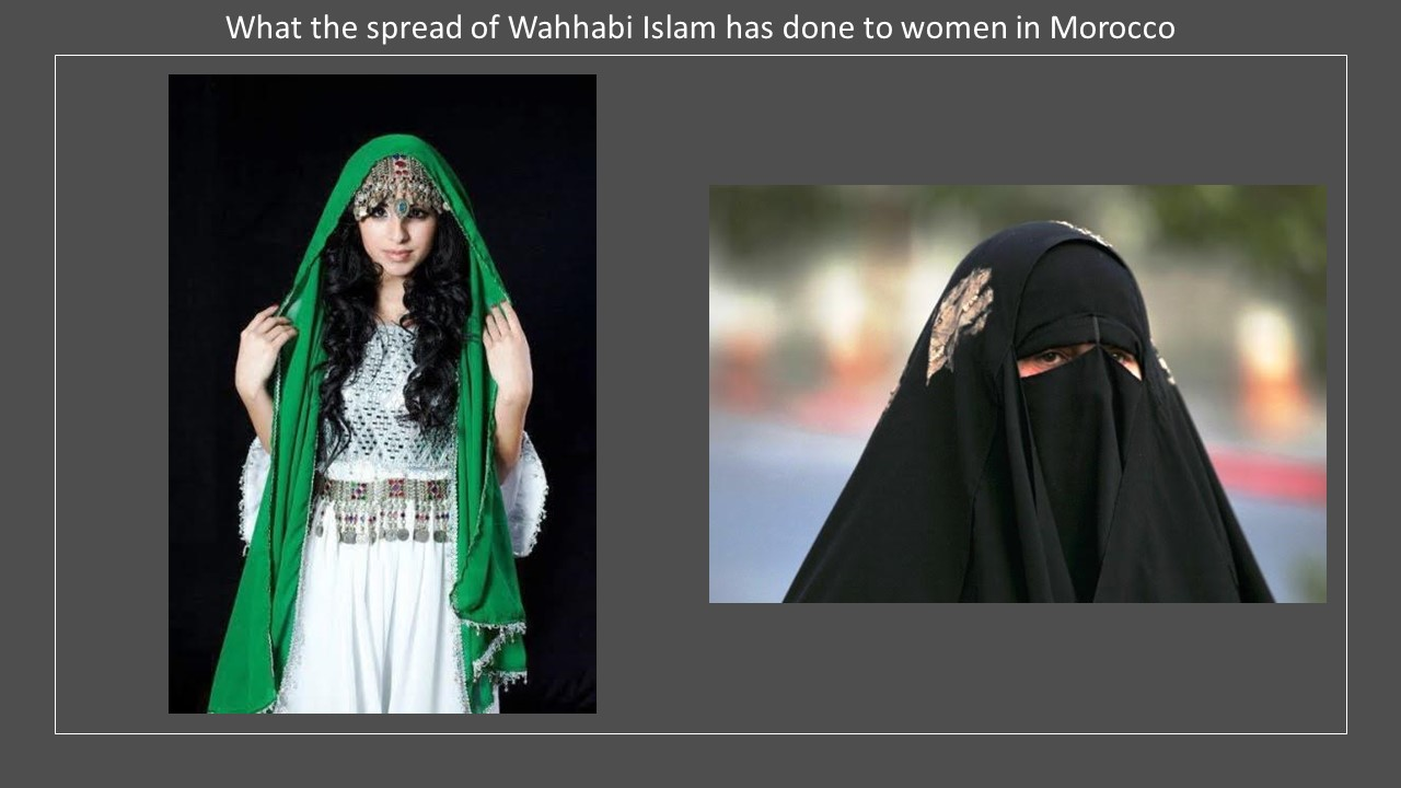Morocco costume Wahhabi Islam