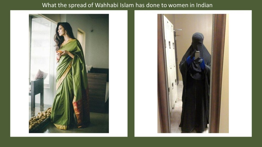 India costume Wahhabi Islam