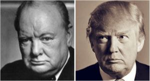 Winston Churchill Donald Trump