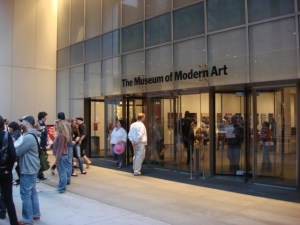Museum of Modern Art entrance