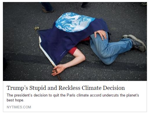 Paris Accord New York Times