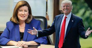 Karen Handel Donald Trump