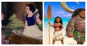 Snow White Moana Disney Princesses