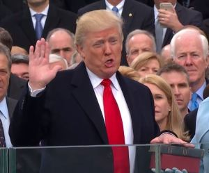 President Trump Oath of Office MAGA