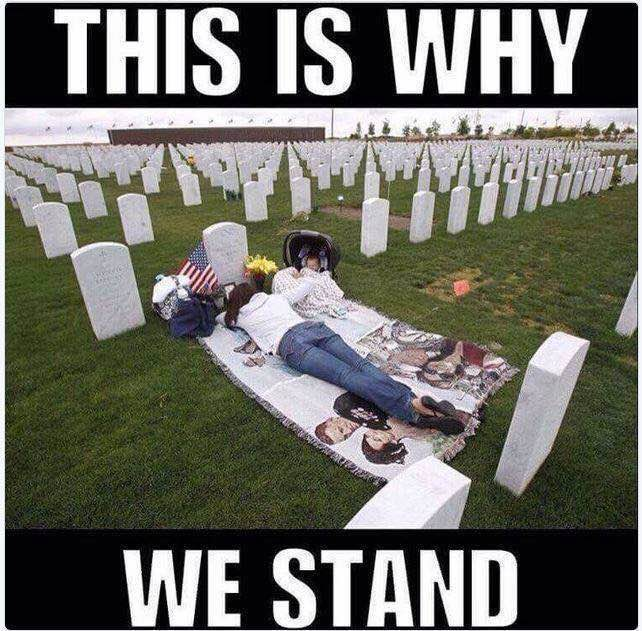 NFL military why we stand