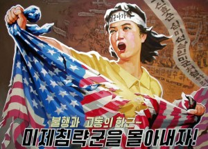 North Korea Propaganda anti-American