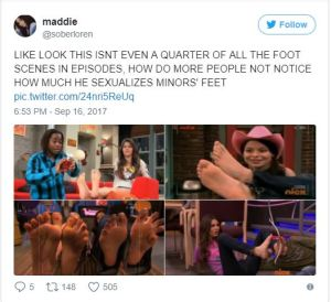 Hollywood Dan Schneider Foot Fetish