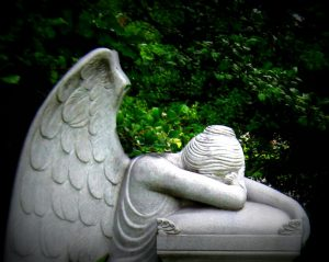 Angel of Grief Weeping Angel