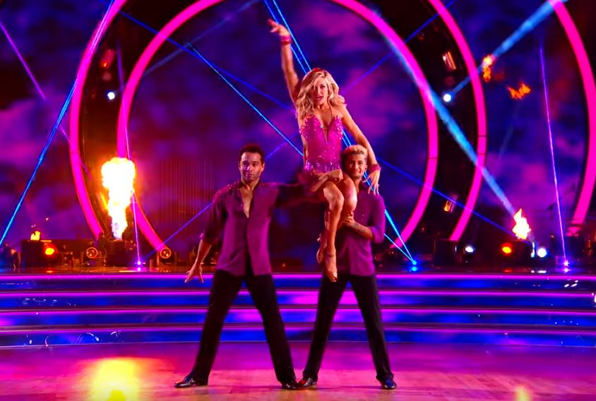 Dancing With The Stars Lindsay Arnold Corbin Bleu Jordan Fisher