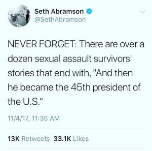 Trump sexual predator