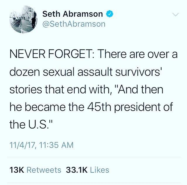 Trump sexual predator