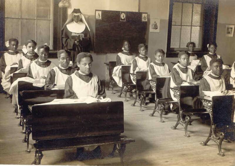 African-American childhood education Baltimore nuns