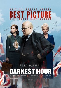 Darkest Hour Gary Oldman Winston Churchill