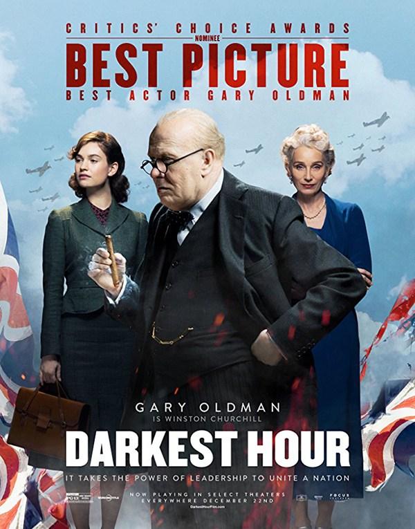 Darkest Hour Gary Oldman Winston Churchill