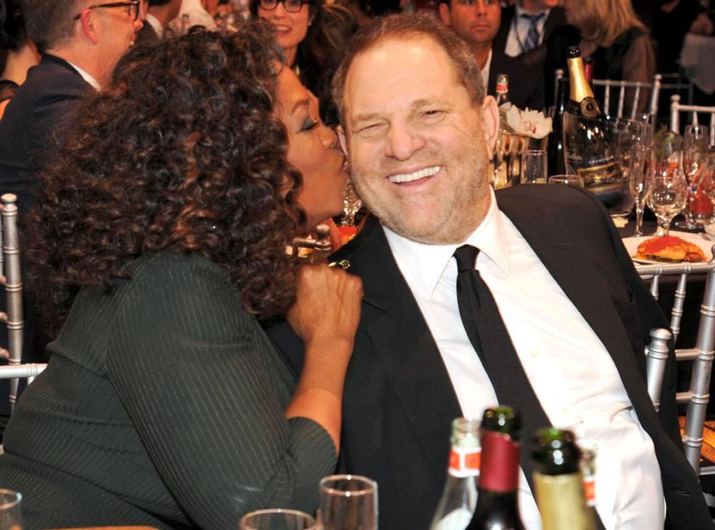 Oprah Winfrey and Harvey Weinstein