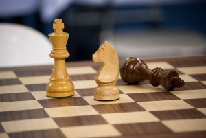 Chess Kings and knight winning by Andreas Kontokanis
