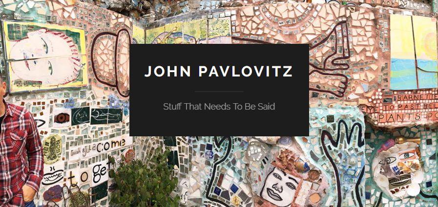 Screenshot of John Pavlovitz home page