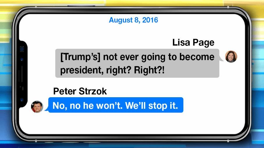 IG Report revealed Strzok text