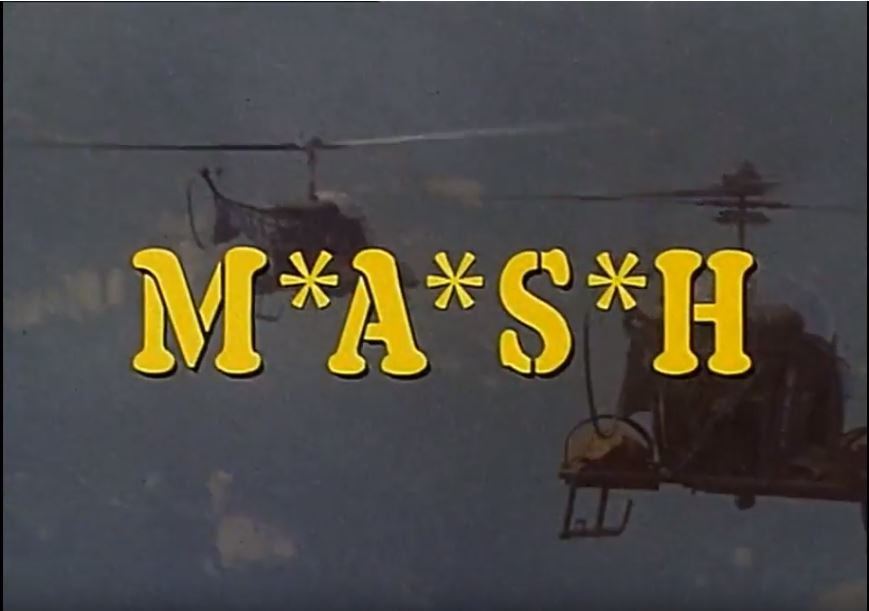 MASH opening screen shot suicide is painless