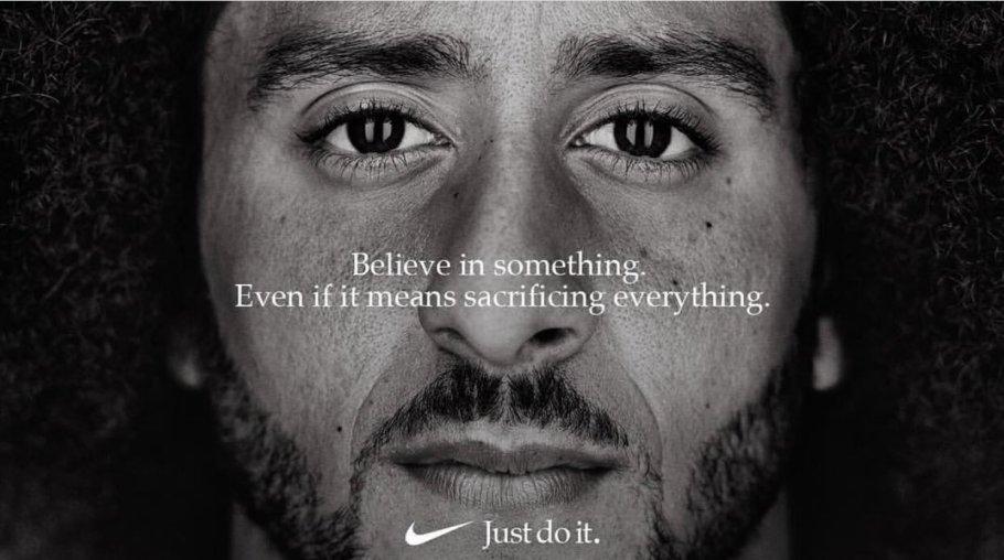 Original Nike Kaepernick poster