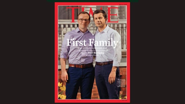 Buttigieg time magazine cover