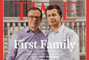 Buttigieg Time Magazine Visual Images