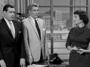Raymond Burr William Hopper Barbara Hale Perry Mason