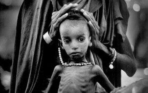 Famine Ethiopia 1984 Slavery post