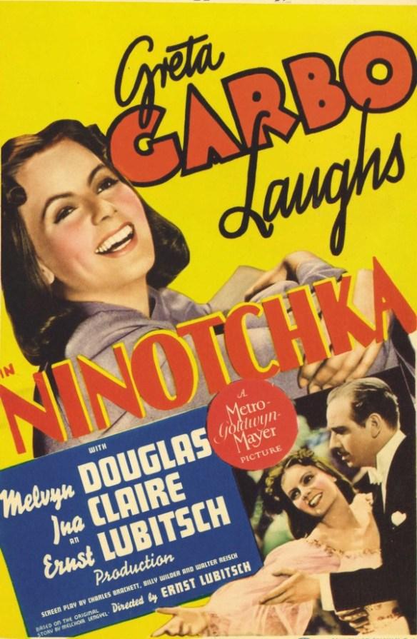 Ninotchka garbo laughs