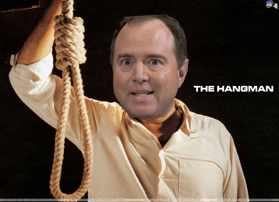 Adam Schiff Impeachment Star Chamber Hangman Execution
