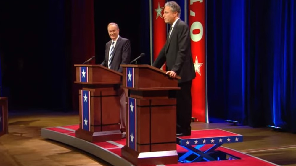 Bloomberg wants Jon Stewart debate platform