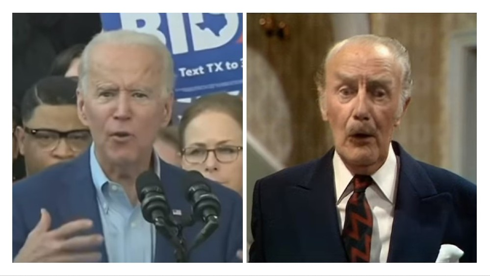Biden Fawlty Towers