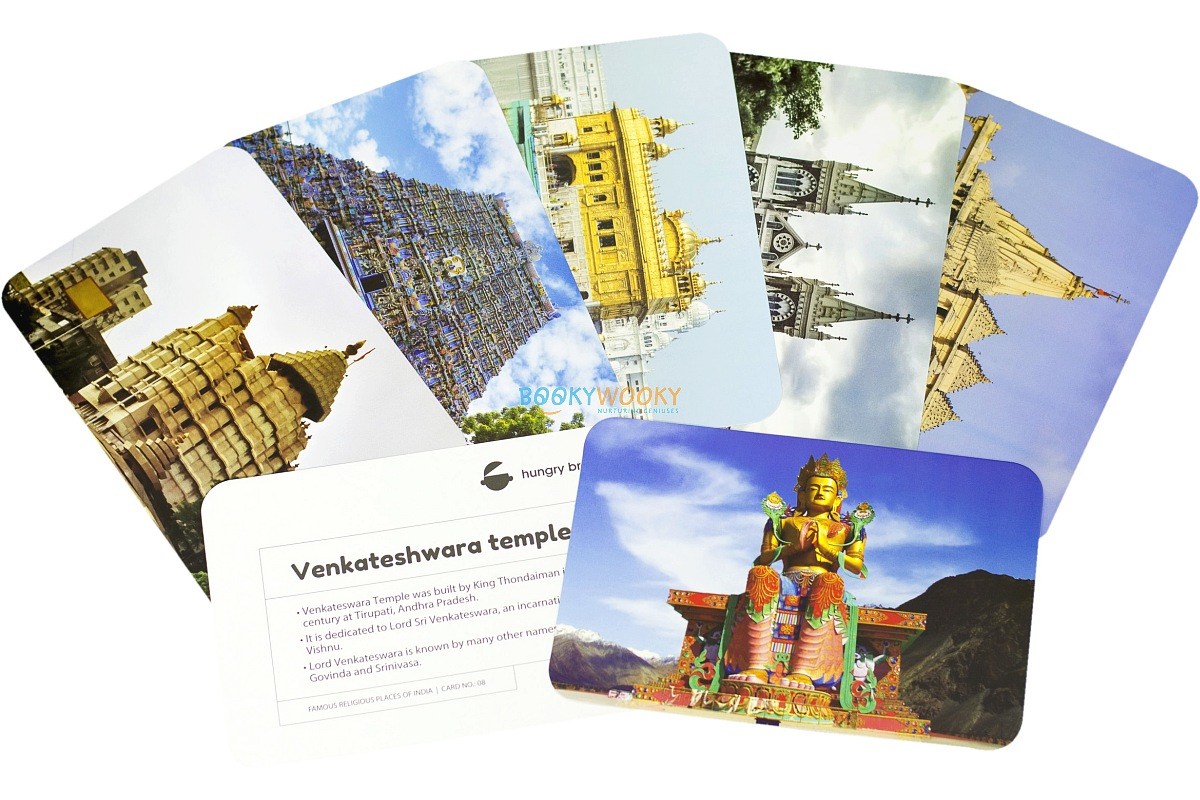 Famous Religious Places Of India Flashcards Flash Cards