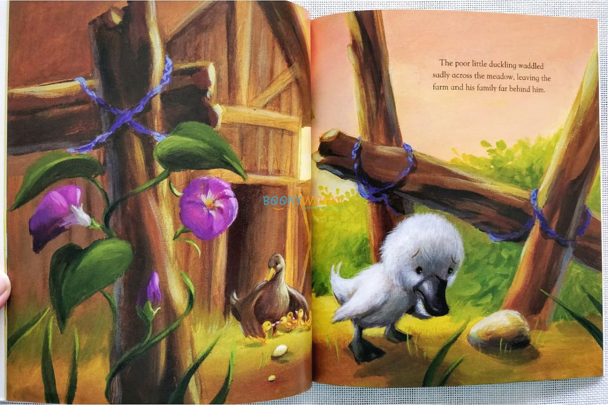 The Ugly Duckling Story Books For Kids Booky Wooky
