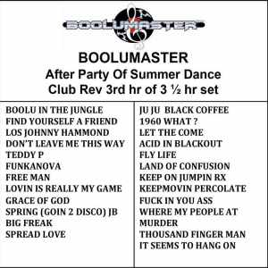after party revs v3 playlist