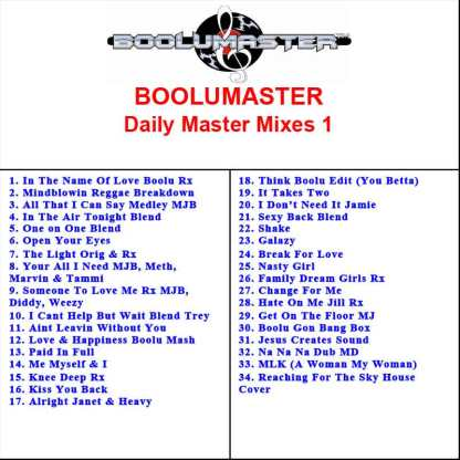 boolu daily master mixes 1 playlist