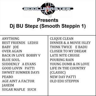 Dj Bu Stepz Smooth 1 playlist