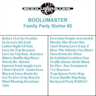 Family Party Starter 2 playlist