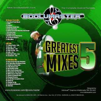 greatest mixes v5 cover