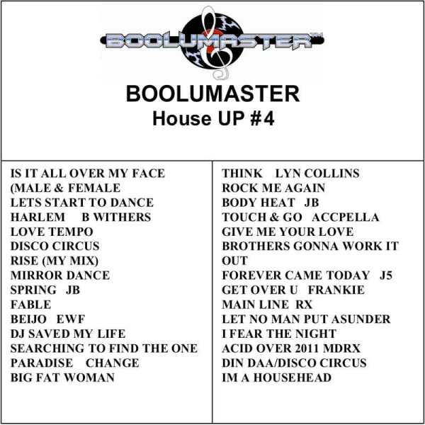 House Up 4 playlist
