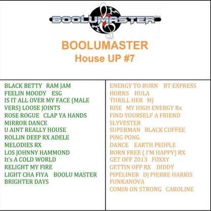 House Up 7 playlist