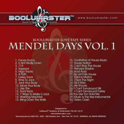 mendel days v1 cover