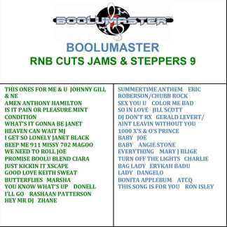 rnb cuts jams steppers 9 cover