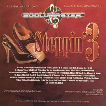 Steppin volume 3