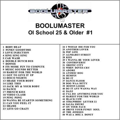 ol school 1 playlist white