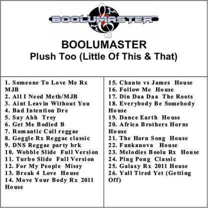 Plush too Playlist