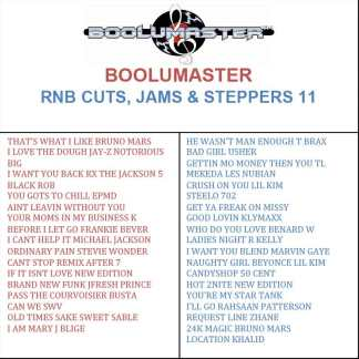 RnB Cuts 11 playlist