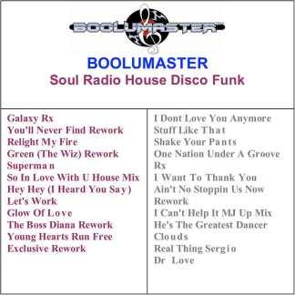 Soul Radio House Disco Funk playlist