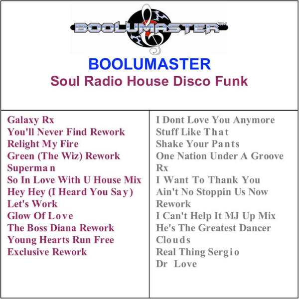 Soul Radio House Disco Funk playlist