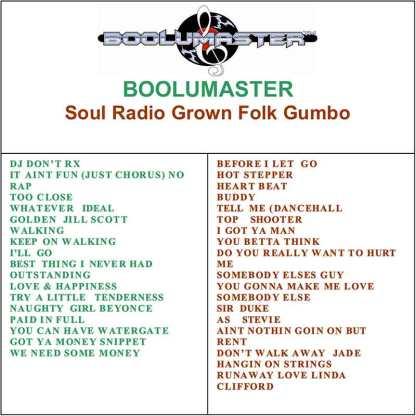 Grown Folk Gumbo playlist